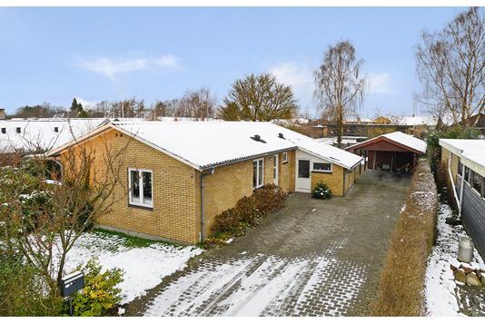 Villa på Rosenvold i Jelling - Mastefoto