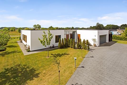 Villa på Haugled i Jelling - Facade