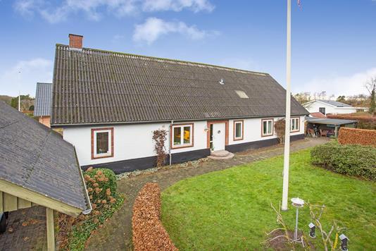 Villa på Mølvangvej i Jelling - Have
