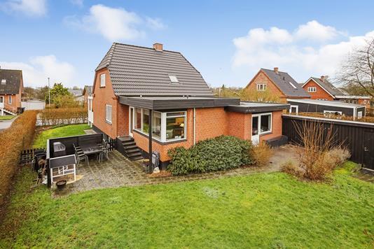 Villa på Vestervænget i Jelling - Terrasse
