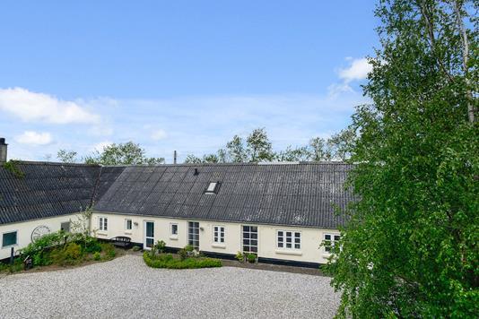 Villa på Vongevej i Jelling - Facade