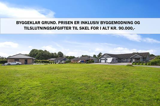 Helårsgrund på Mølvanggårdsvej i Jelling - Grund