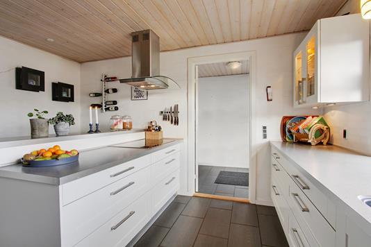 Villa på Langgade i Gadbjerg - Køkken