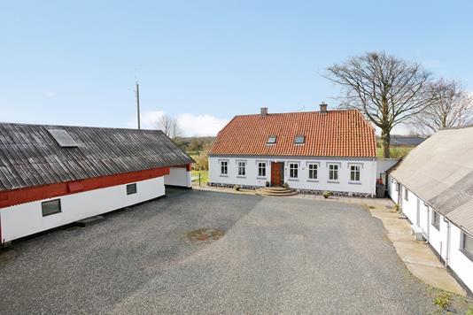 Villa på Tørringvej i Jelling - Mastefoto