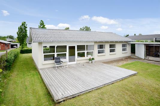 Villa på Rosenvold i Jelling - Terrasse