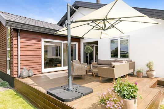 Villa på Farum Gydevej i Farum - Terrasse
