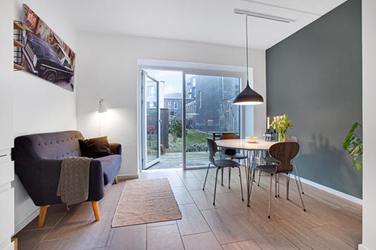Rækkehus på Richard Mortensens Vej i København S - Stue