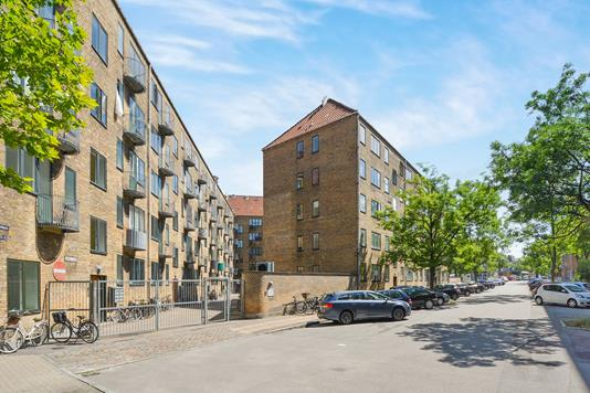 Ejerlejlighed på Æbeløgade i København Ø - Ejendommen