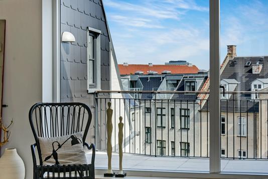 Ejerlejlighed på Koldinggade i København Ø - Altan