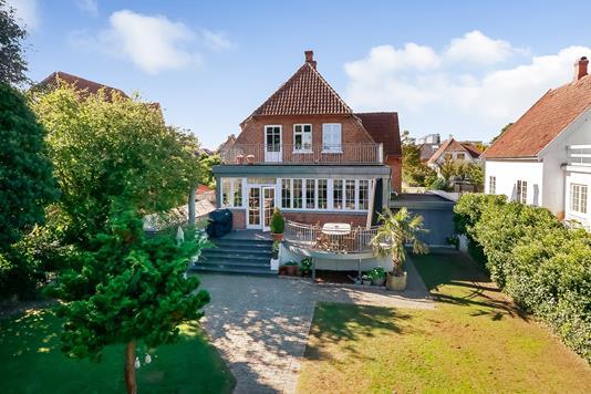 Villa på Langelinie i Odense M - Ejendommen