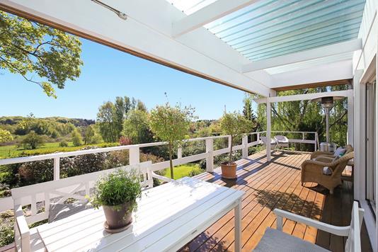 Villa på Drabæksvej i Allerød - Overdækket terrasse
