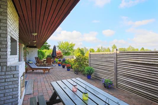 Villa på Søtoften i Allerød - Terrasse