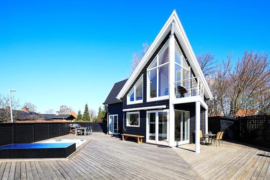 Villa på Irisvej i Allerød - Terrasse