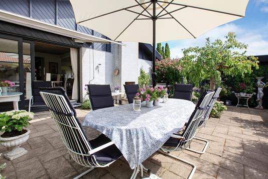 Villa på Abildlunden i Birkerød - Terrasse