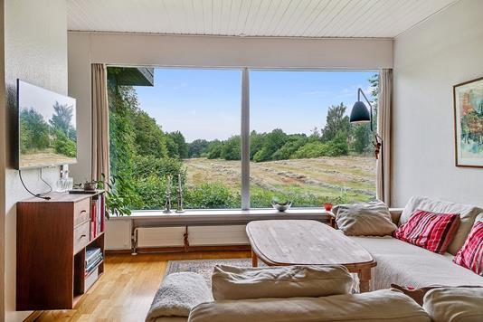 Villa på Stenhøjgårdsvej i Birkerød - TV stue