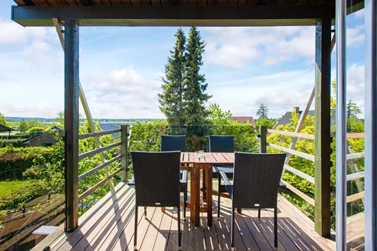 Villa på Rønnebakken i Birkerød - Terrasse