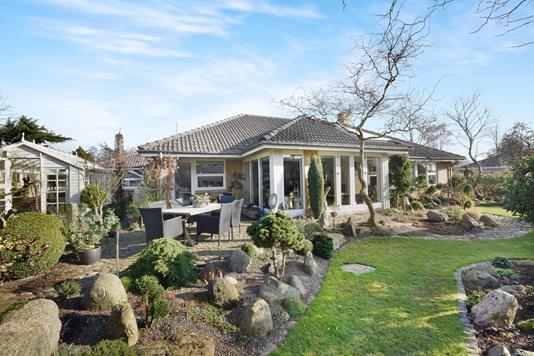 Villa på Stjerneparken i Gråsten - Have