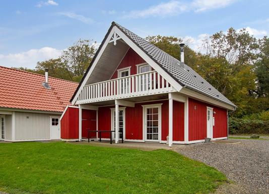 Fritidsbolig på Marina Fiskenæs Feriepark i Gråsten - Ejendommen
