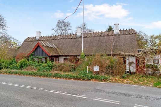 Villa på Jordhøjvej i Slangerup - Set fra vejen