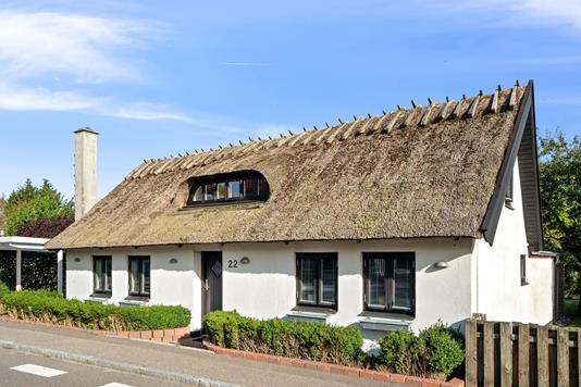 Villa på Gammel Køgevej i Klippinge - Set fra vejen