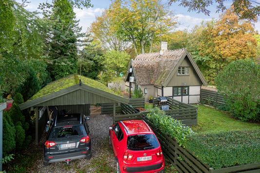 Villa på Højerup Bygade i Store Heddinge - Set fra haven